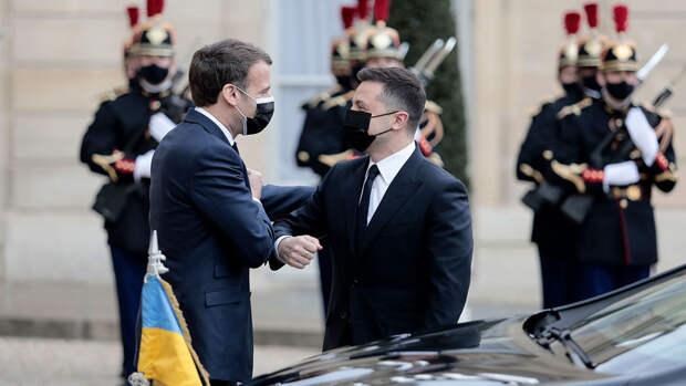 L'Opinion: Макрон оставил без внимания тему вступления Украины в НАТО