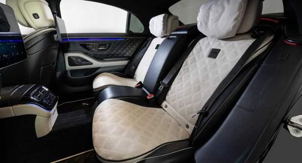 Brabus 500 — Mercedes S-класса с увеличенной мощностью и ярким экстерьером