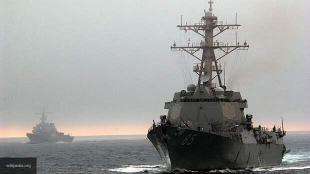 Sohu прокомментировало жесткий ответ РФ на поход эсминца США на Балтику