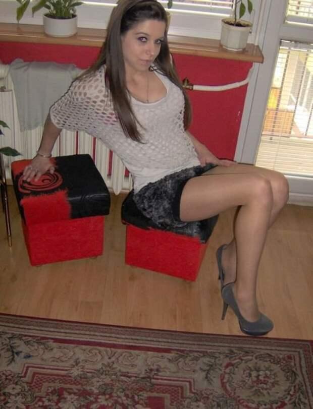 Очаровательные девушки из российских социальных сетей (28 фото)