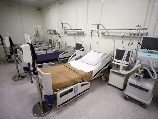 В Москве планируют увеличить количество коек для пациентов с COVID-19 до 24 тысяч