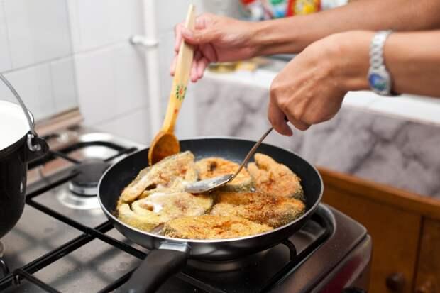 как правильно жарить рыбу филе