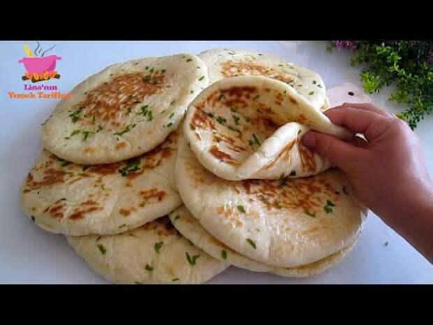 Турецкий хлеб: самый вкусный и легкий хлеб, который вы можете приготовить! Никакой духовки! Мягкий