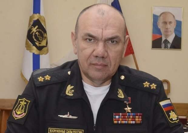 Путин назначил нового командующего Черноморским флотом