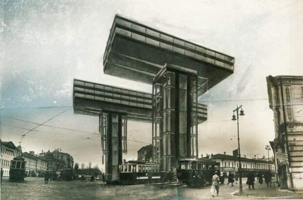 Горизонтальные небоскребы Лисицкого: какие здания хотели строить в СССР