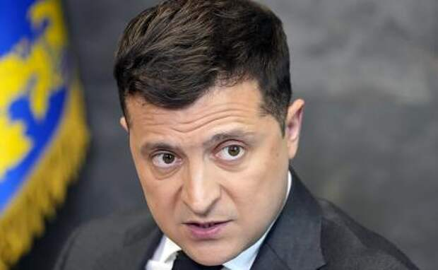 На фото: президент Украины Владимир Зеленский