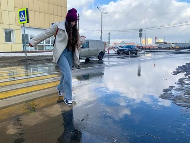 В Западном Дегунине подготовили технику к устранению последствий потепления