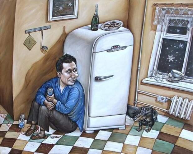 Зарисовки советской жизни в картинах художницы Анжелы Джерих