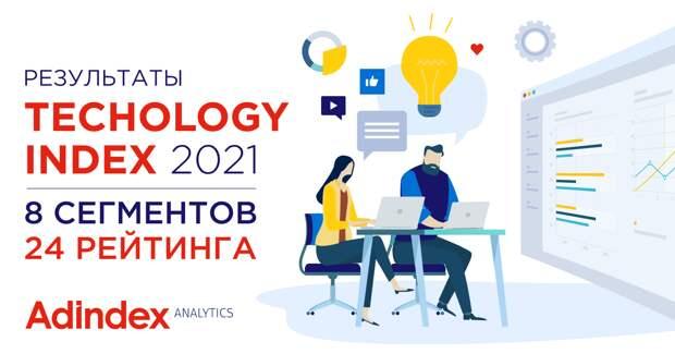 Рейтинг Technology Index 2021: главные инструменты в digital-коммуникациях