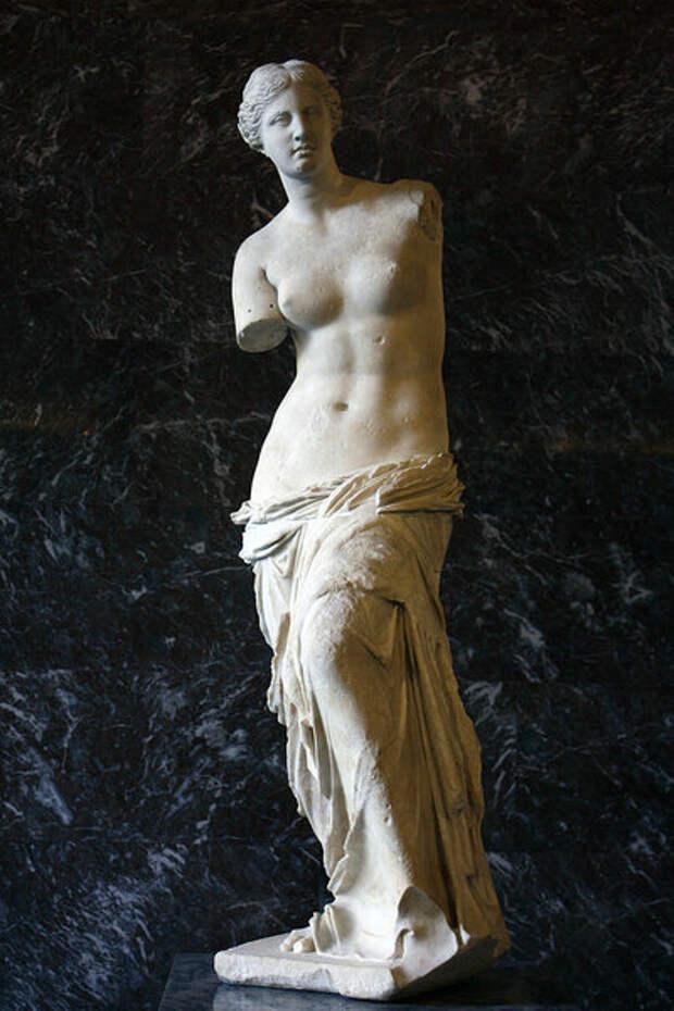 Венера Милосская: сравните с предыдущим фото, и убедитесь, что прогресс есть, однако идея -- та же самая