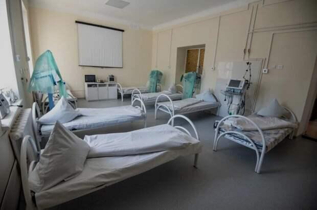 В инфекционке Севастополя устроили 225 коек для больных коронавирусом