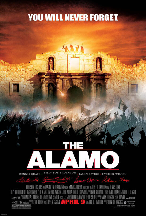 Битва за миссию или Авантюристы против мексиканцев