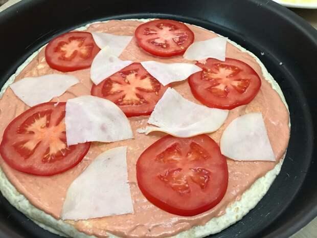 Идеальная пицца на лаваше за 15 минут!