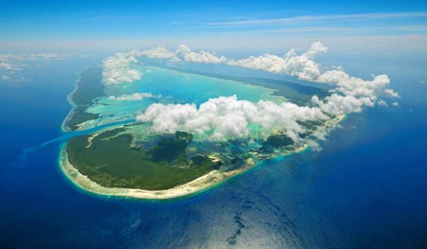 Красивые острова на которых человеку не выжить