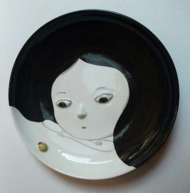 Посуда с девочками Nathalie Choux