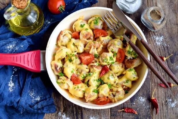 Жареные пельмени на сковороде: самый вкусный рецепт