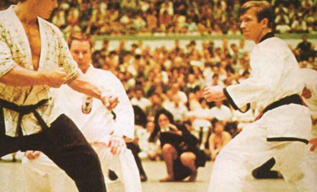 Чак Норрис на ринге чемпионата 1971 года: соперники бессильны