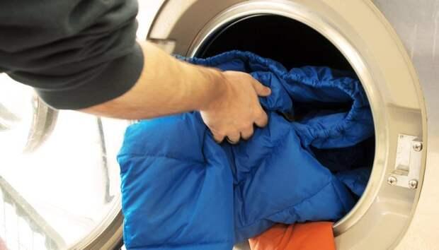 7 простых правил, как постирать пуховик в стиральной машине