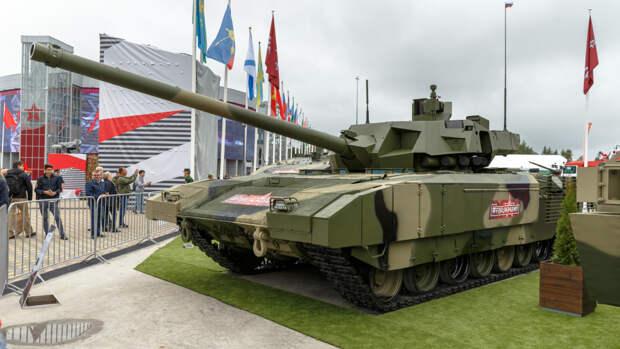«Прорыв в современном танкостроении»: как Россия готовится продвигать танк Т-14 «Армата» на мировом рынке