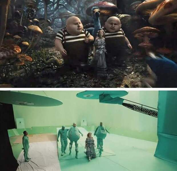 Как бы выглядели фильмы без визуальных эффектов