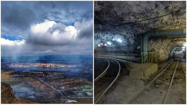 Город, построенный на подземных пустотах, или Какой размер рудников под Норильском