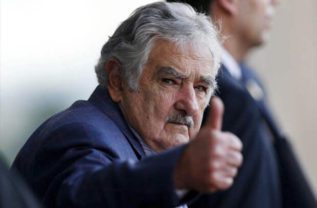 Экс-президент Уругвая заслужил звание самого бедного президента планеты в мире, закон, люди, правила, уругвай, факты