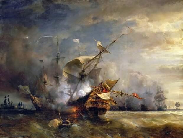 Сражение у Уэссана, 1707 год - Великие крейсерские войны: драка за испанское наследство   Военно-исторический портал Warspot.ru
