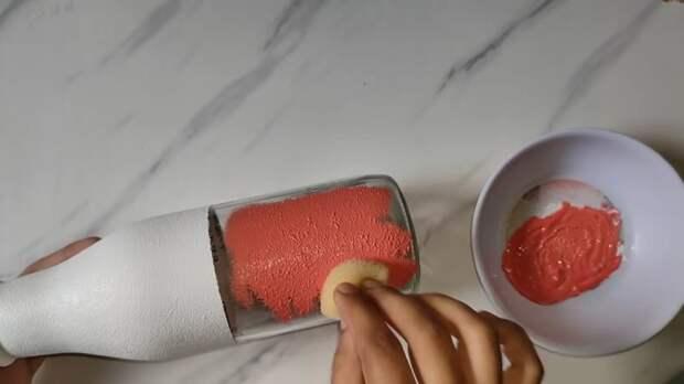 Потрясающе простая техника рисования, которая поможет создать красивый декор