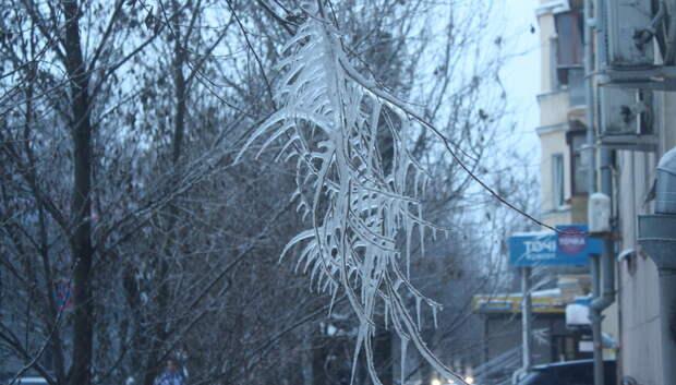 Ледяной дождь накроет Москву и Подмосковье в воскресенье