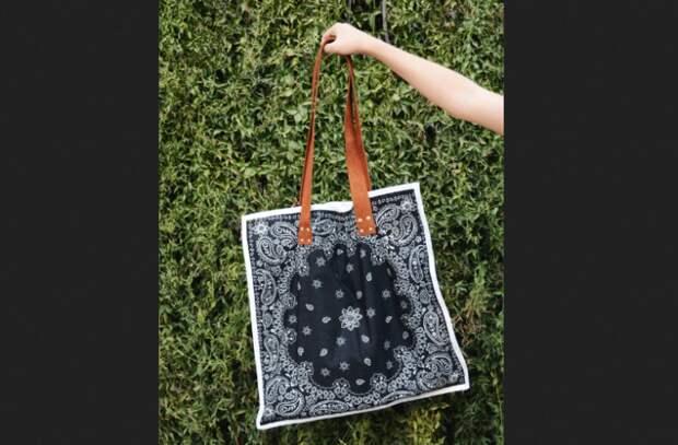 пляжная сумка в стиле рок