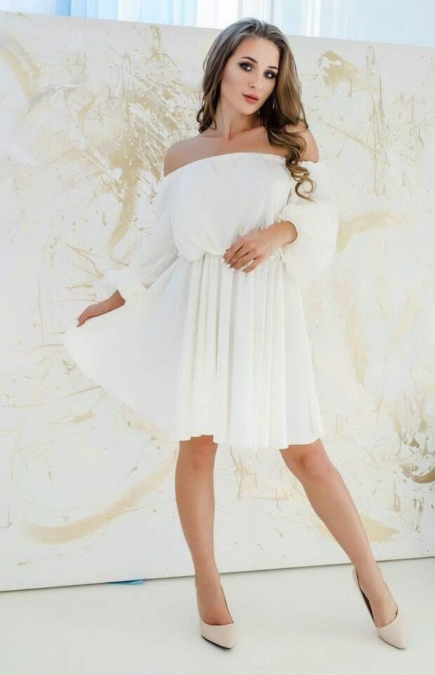 Как носить весенние платья и блузы с фигурными вырезами и не выглядеть вульгарно