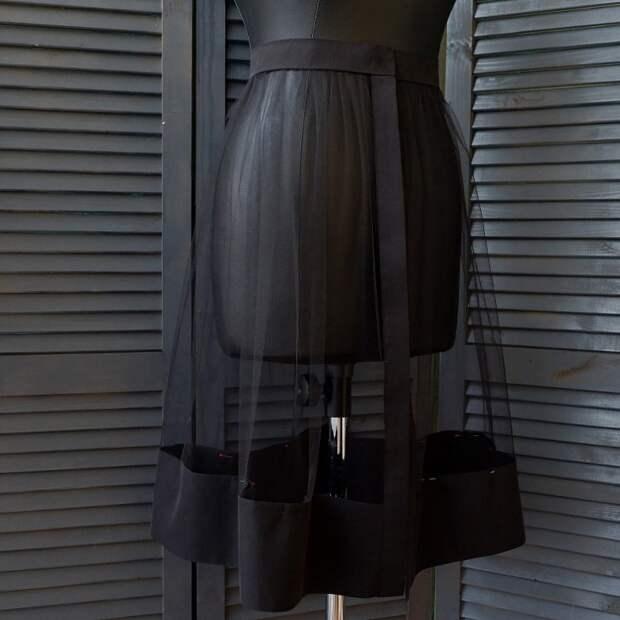 Прозрачная юбка №2