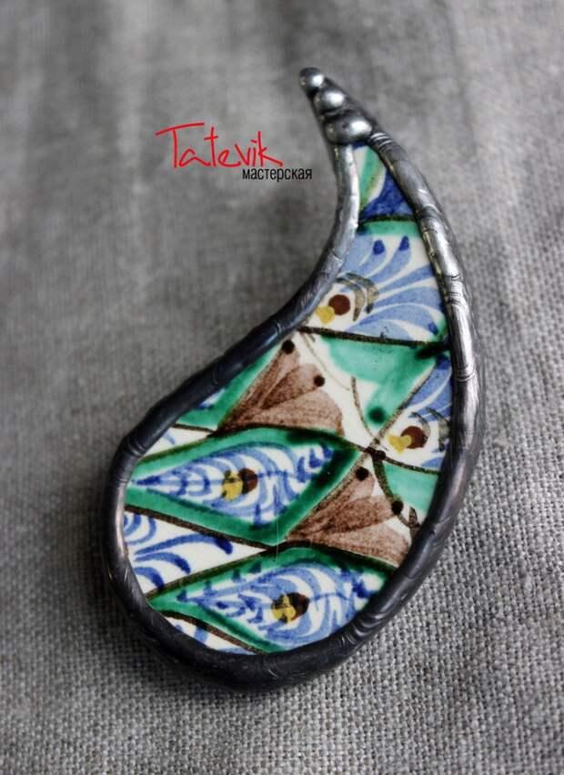 Керамические украшения Татевик Карапетян