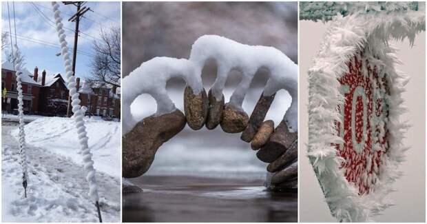 30+реально зрелищных зимних фотографий, которые вам будет приятно посмотреть