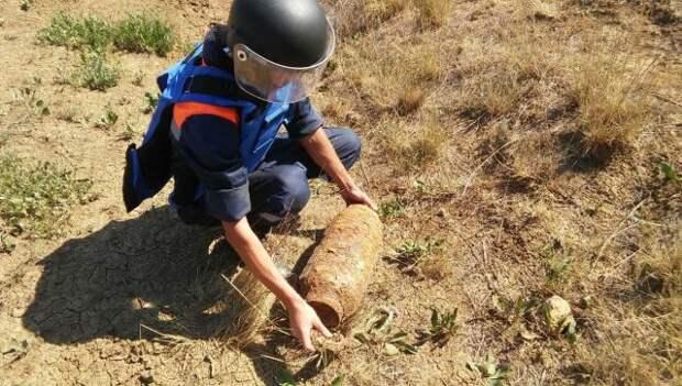 В разных районах Керчи нашли 5 боеприпасов