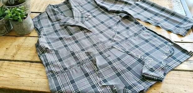 Переделка одежды мастер-класс