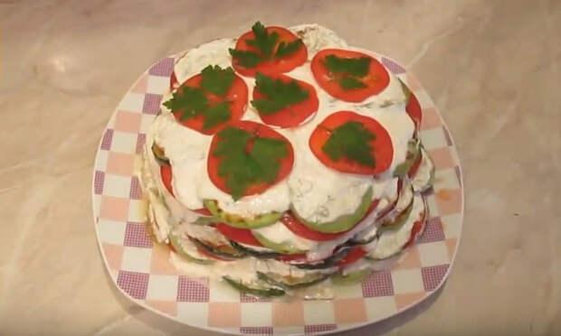 Идеальный диетический тортик из кабачков, который тает во рту