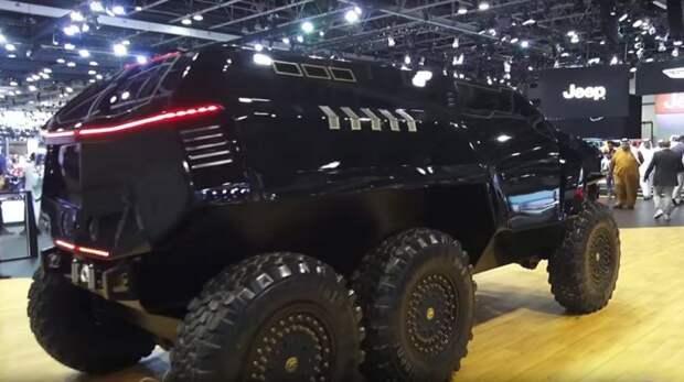 Арабский гиперкар и шестиколесный внедорожник Devel, Devel Sixteen, авто, автомобили, внедорожник, гиперкар, спорткар, суперкар
