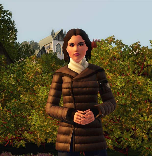 Картинка сделана мною в игре The Sims 3