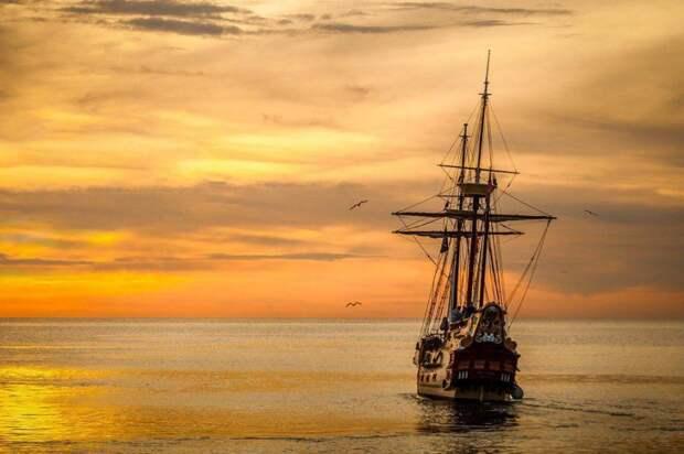 Корабль/ Фото pixabay.com