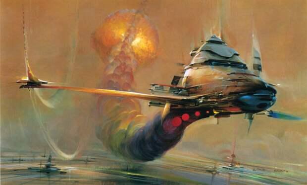 Гигантский китайский космический корабль