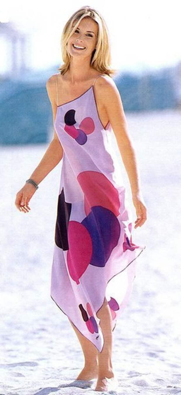 Платье из платка (Diy)
