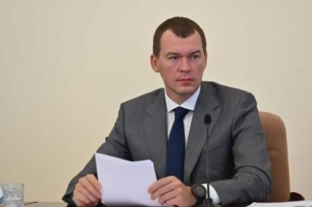 «Очень хорошая практика, она работает!» Дегтярев пообещал хабаровским чиновникам «грамоты и медали» за хорошую работу