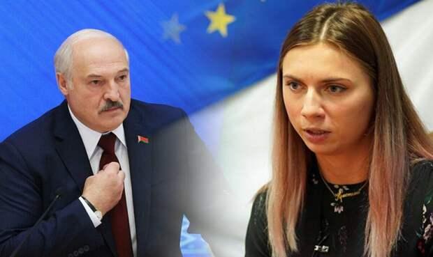 Истеричка Тимановская просится назад в Белоруссию — пускать?