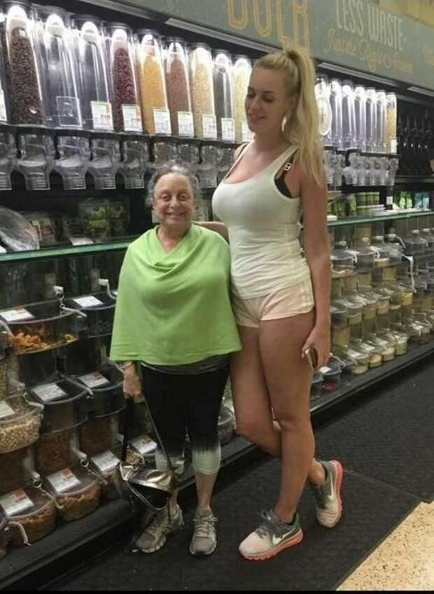 Высокие девушки, которым «плевать» на стереотипы о росте 👫
