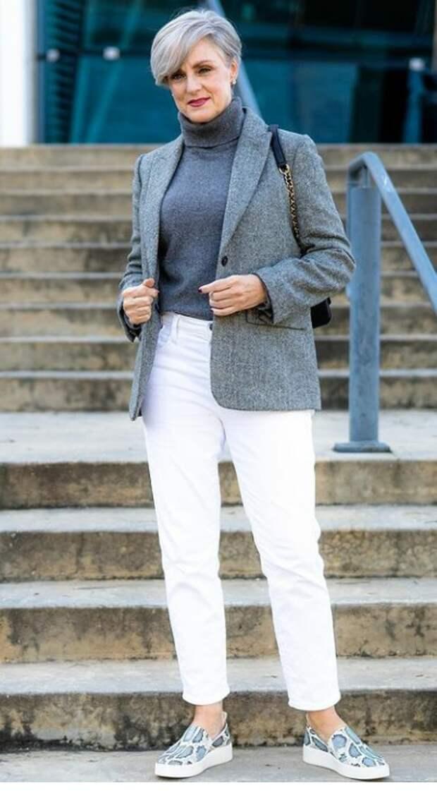 Как быть стильной в 50 лет, не гоняясь за трендами