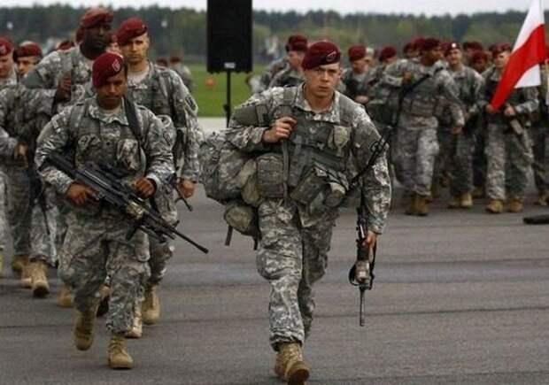 Польша попросила США поскорее ввести войска насвою территорию