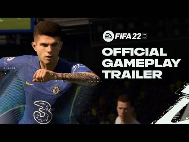 EA Sports показала игровой процесс FIFA 22 (видео)