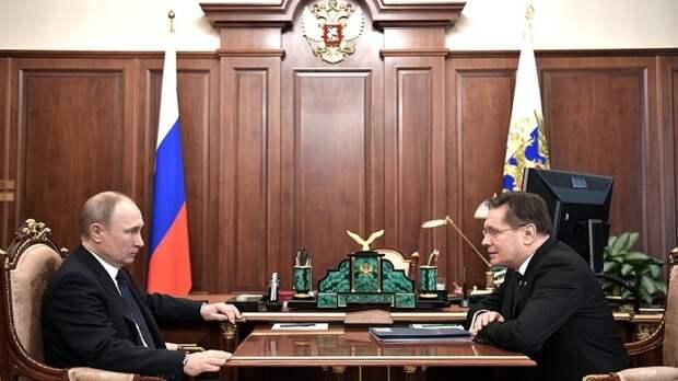 Встреча Путина с главой Росатома послужила сигналом США