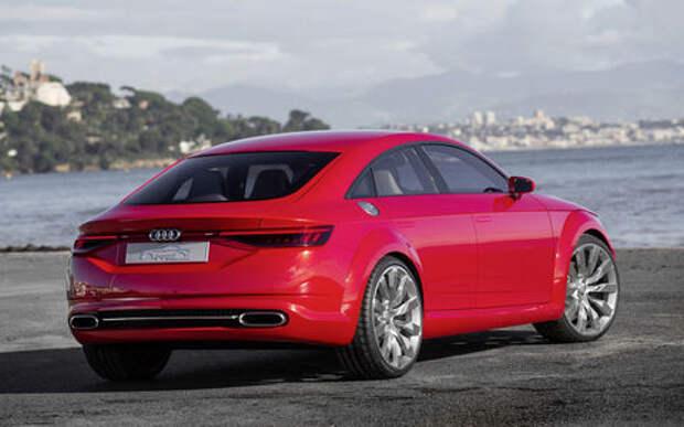 Новый Audi TT может стать четырехдверным
